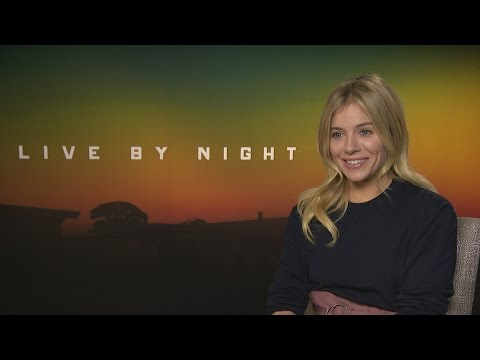 Live By Night: Sienna Miller didn't cry during love scene, she got the giggles