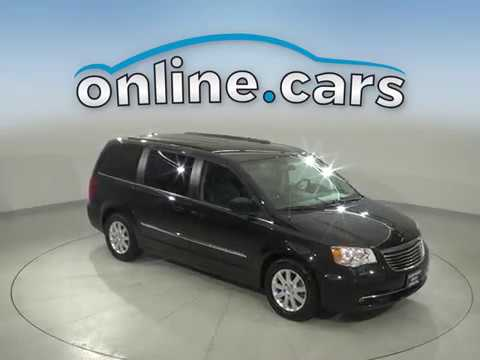 A16860PT Used 2014 Chrysler Town & Country Black Van Test Drive, Review, For Sale
