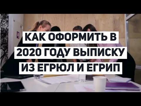 Как оформить выписку из ЕГРЮЛ и ЕГРИП в 2020 году