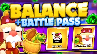 BALANCE CHANGES! - Brawl Pass, Quests u0026 New Environment! - May Update Sneak Peek!