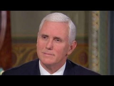 Pence on North Korea strategy, Trump's Jerusalem decision