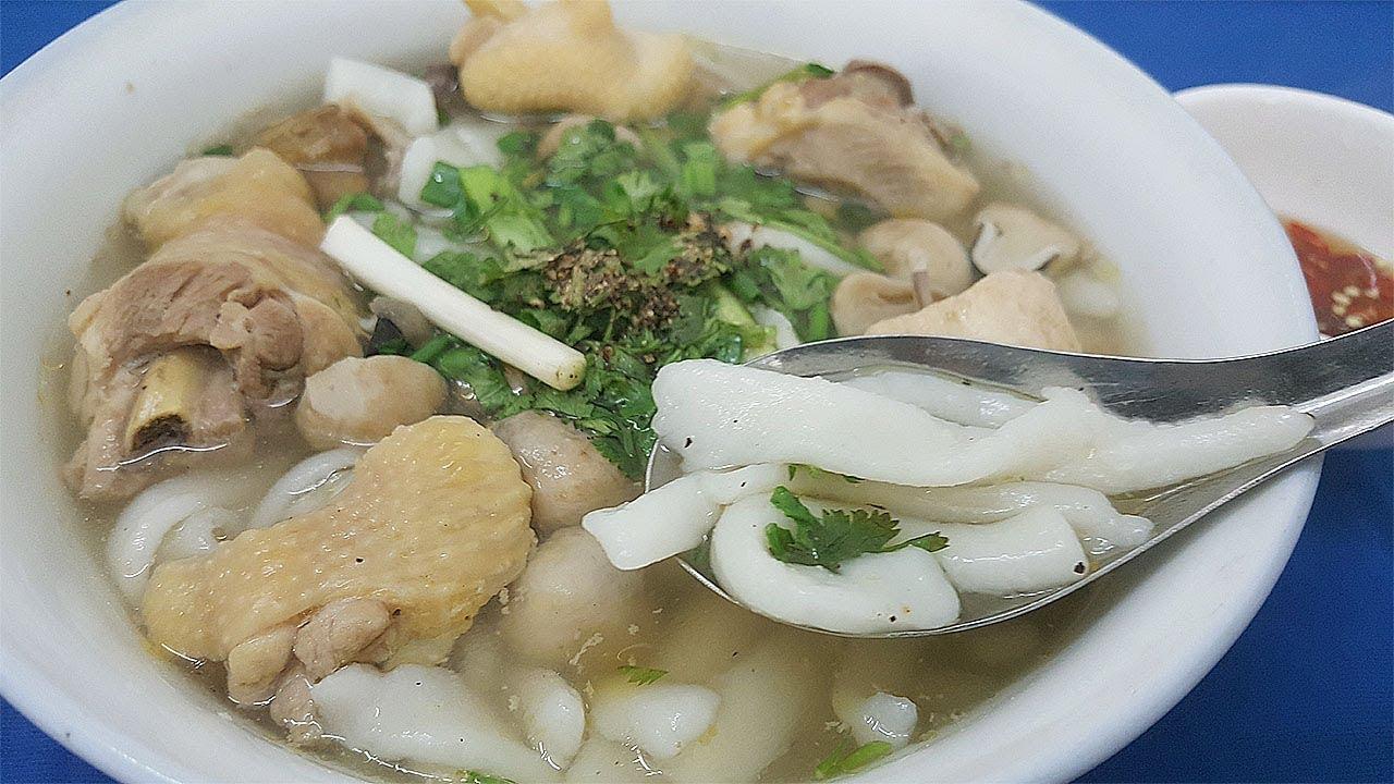 Cách làm BÁNH CANH BỘT XẮT THỊT GÀ ẩm thực Miền Tây (bread soup) – Hồng Thanh Food