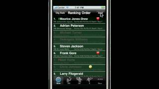 How to hide drafted players from the list in our iPhone app