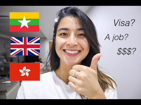 How To Move Countries, Get Visas And Find A Job In ASIA! - ရေခြားမြေခြားအလုပ်မလုပ်