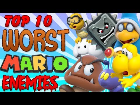 Top 10 Worst Mario Enemies!