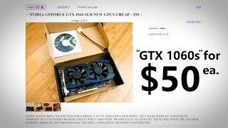 Fake GTX 1060s on Craigslist... 😠