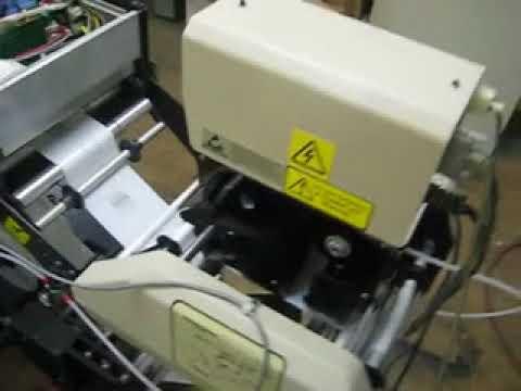 BID ON EQUIPMENT: Item 334248 - AUTOMATED PACKAGING Thermal Transfer Bag Printer - Model PI-4000