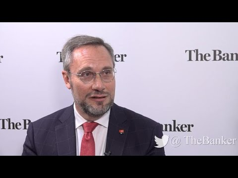 Pascal Augé, head of global transaction and payment services, Société Générale – View from Sibos 201