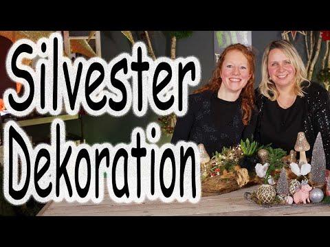 DIY: Silvester Deko das Highlight für den Tisch   Tischdeko   Party Deko   Dekoration   Floristik24