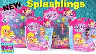 Splashlings Wave 1 12 & 6 Packs | Ocean Friends Kids Toy Review Opening | PSToyReviews