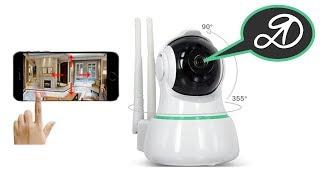 Очень подробный обзор IP видеокамеры 360Eye S -- GearBest