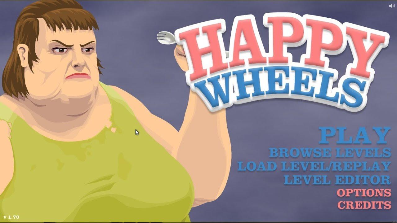 تحميل لعبة happy wheels