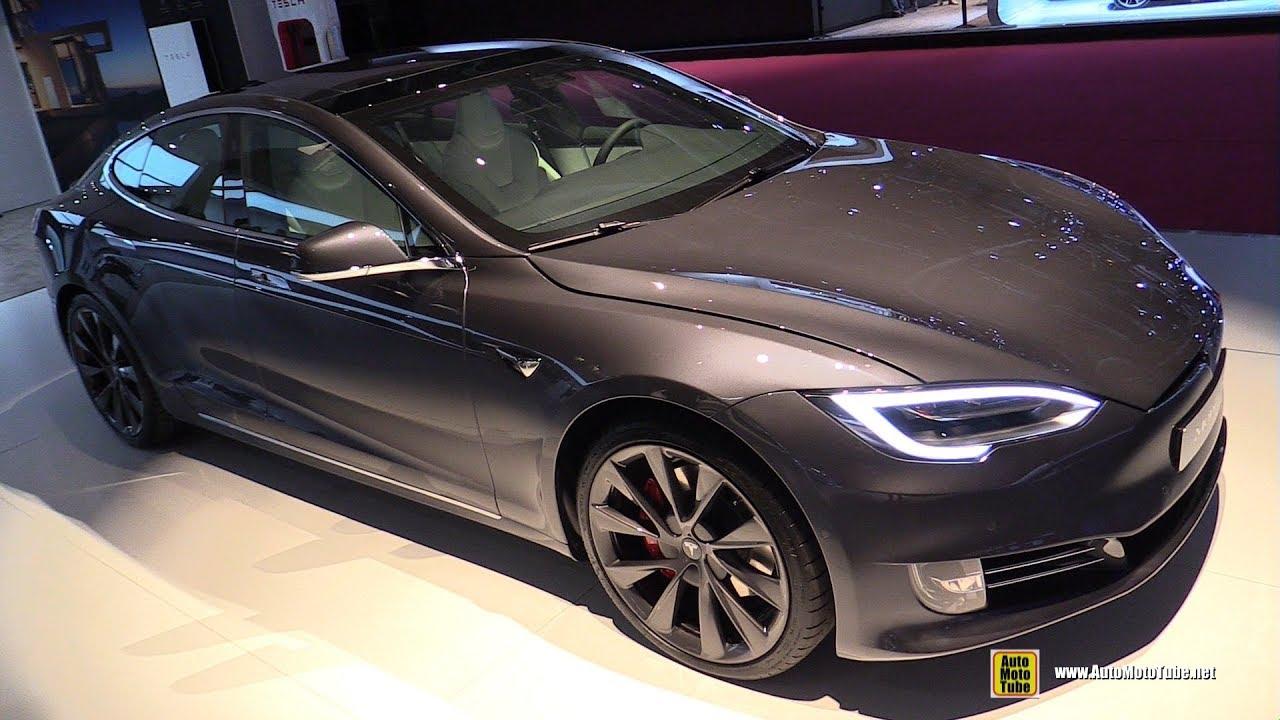 2019 Tesla Model S P100D - Exterior and Interior Walkaround - 2018 Paris  Motor Show