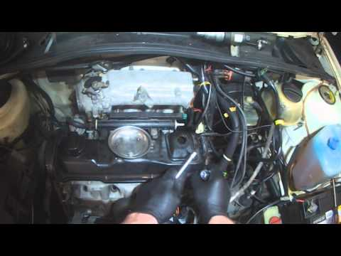 VW A2: 1.8L Head gasket removal (coolant out the exhaust)
