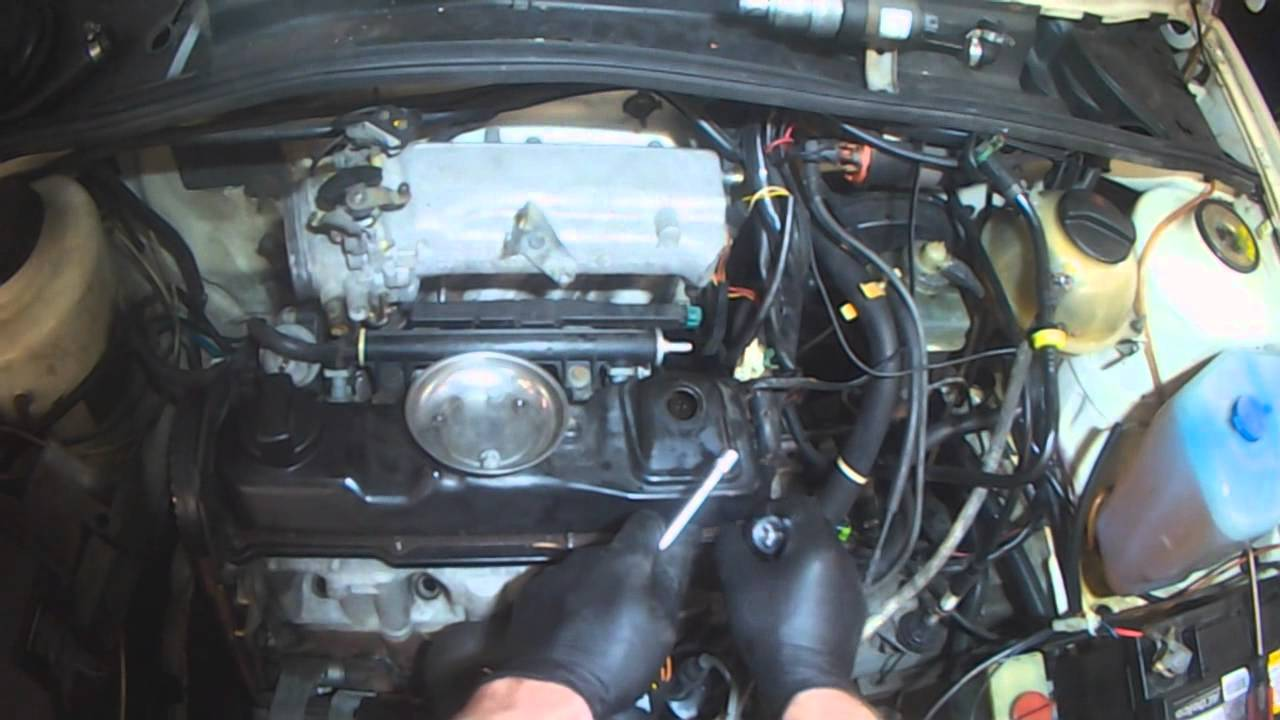 VW A2: 18L Head gasket removal (coolant out the exhaust