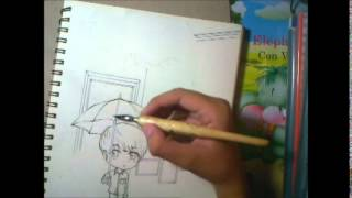 [Chibi Kpop] Drawing CNBlue