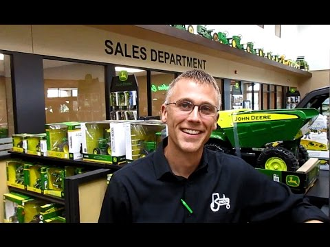 John Deere Dealer Has Background In High Tech Field And US Army