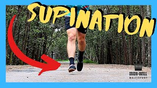 Running with Supination | How I overcame Supination of the foot and IT Band Syndrome!