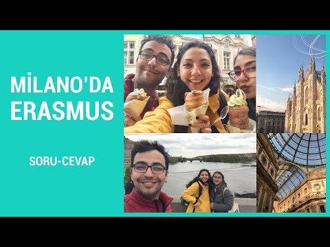 Milano'da Erasmus Soru-Cevap Videosu