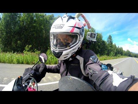 Guada Araoz, una vuelta al mundo sola en moto