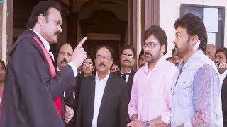 Chiranjeevi Blockbuster Movie Scene | Telugu Movies | Cinema Theater