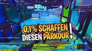 nur 0,1% der Spieler schaffen diesen Parkour! | Fortnite