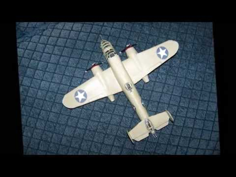 How to make a cool - MITCHELL B-25 BOMBER Paper Airplane ...