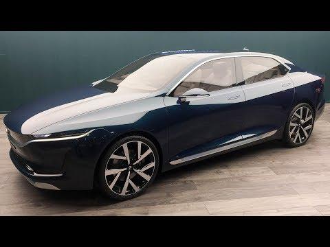 Tata E Vision Sedan Concept - World Exclusive | MotorBeam