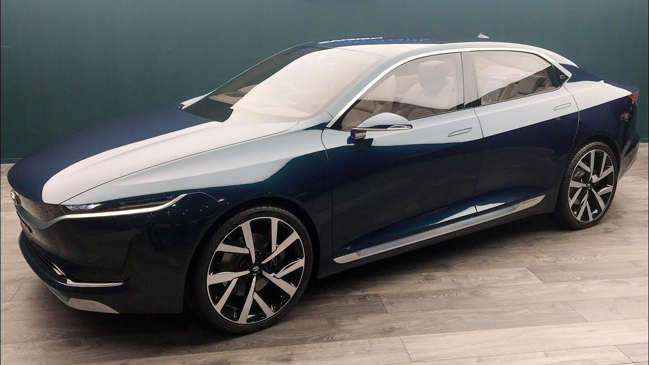 Tata E Vision Sedan Concept World Exclusive Motorbeam Youtube