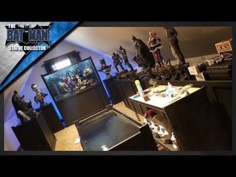Batman Statue Collection Room Featuring Sideshow & Prime 1 Studio ~ Update September 2017