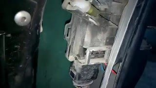 микрик в дверях Audi A6 / быстрое отключение