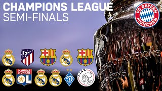 FC Bayern - All Semi-Final Matches in the Champions League