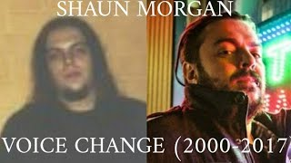 Shaun Morgan Voice Change 2000-2017
