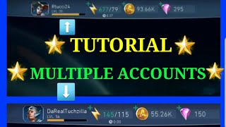 *EASIEST WAY TO HAVE MULTIPLE ACCOUNTS IN INJUSTICE 2 MOBILE TUTORIAL*