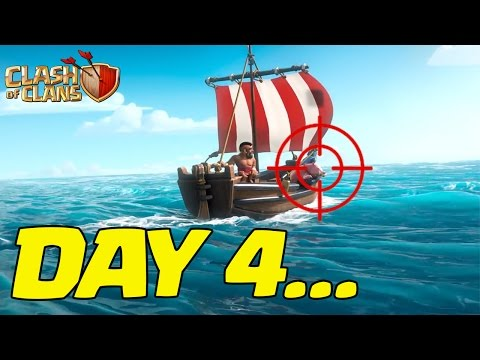 Clash of Clans (PARODY) Captain's Log, Day 4 - Losing My Mind
