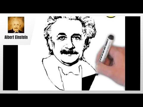 Draw about Albert Einstein - Genius Scientist | Short Biography