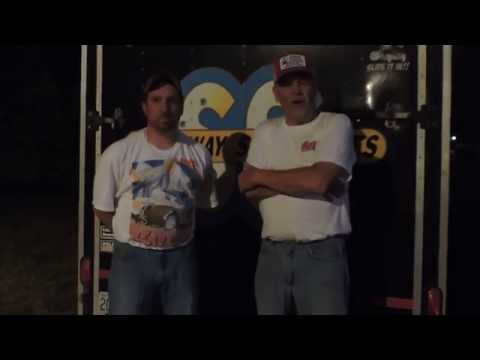 Phil Heavelow interview at Nevada Speedway 8-09-14