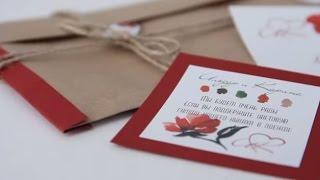 видео Как сделать свадебные пригласительные онлайн