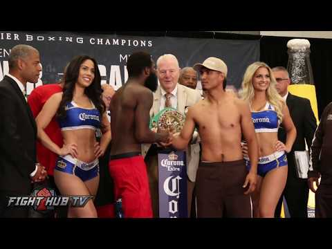 Adrien Broner Starts Shadowboxing In Front Of Mikey Garcia Feels Supreme Confidence