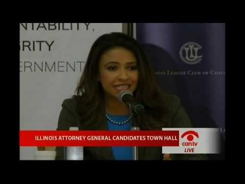 Forum on Illinois Attorney-General Candidates