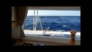 Sailing a lagoon 450 from Greece to Sicily - fast !