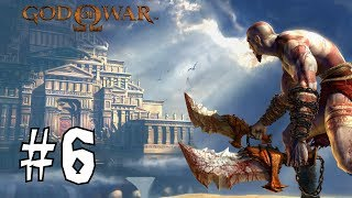 Прохождение God Of War с PS2 (Бог войны) #6 на русском. Крыши Афин