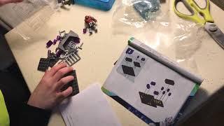 Мистер Ян Заки собирает Мега Блокс Черепашки Ниндзя Ninja Turtles mega blocks