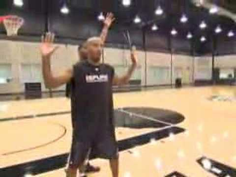 NBA Fundamentals Bruce Bowen on Man-to-Man Defense