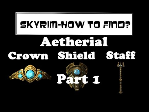 skyrim how to find aetherial items lost to the ages quest youtube. Black Bedroom Furniture Sets. Home Design Ideas