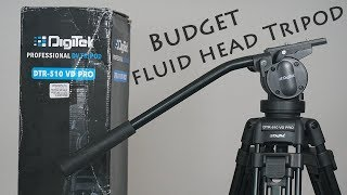 Best Budget Fluid Head Professional Video Tripod For YouTube !!!