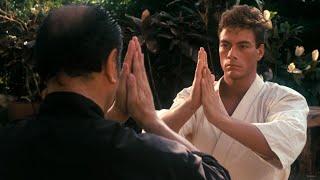 Ван Дамм тренируется с Учителем. Кровавый спорт(1988) HD