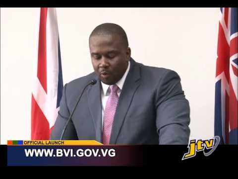 OFFICIAL LAUNCHING CEREMONY FOR THE TRANSFORMED WWW BVI GOV VG    20 JANUARY 2015