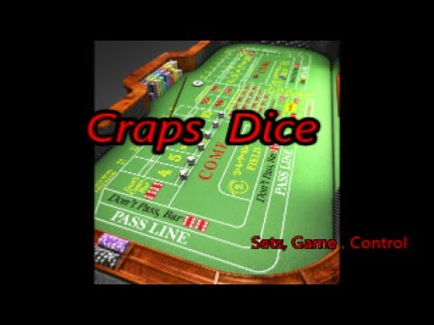 Craps Dice       Sets, Game, Control
