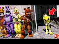 Funny Animatronics Hide from Evil GOLDEN SONIC the HedgeHog! (GTA 5 Mods FNAF RedHatter)